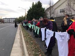 Inetfaith Clergy Witness in Fairfax, VA